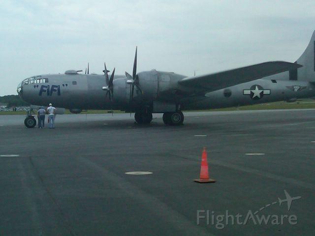 "— — - B-29 Superfortress ""FIFI"" taken at RDG 2011 at WWII Museum"