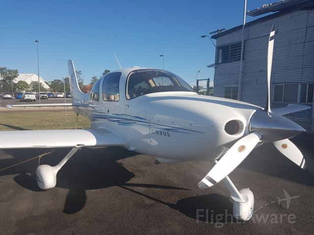 Cirrus SR-22 (VH-USW) - Recently relocated to Tamworth for a business owner, operated by Airspeed Aviation