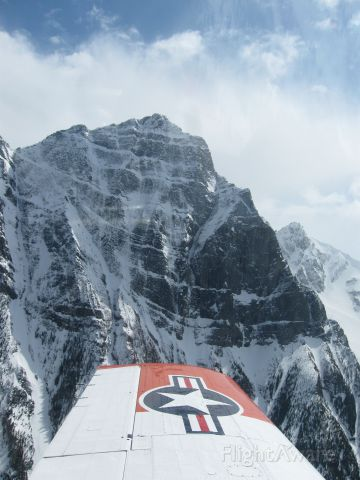 C-GKKD — - Flight thru the Canadian Rockies