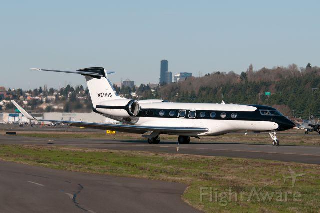 Gulfstream Aerospace Gulfstream G650 (N211HS) - Headed to Hawaii