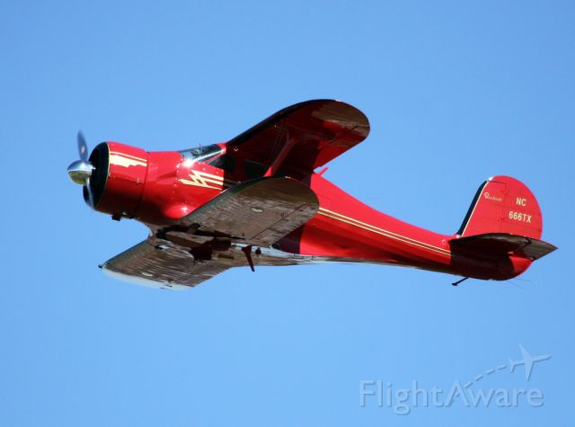 Beechcraft Staggerwing (N666TX)