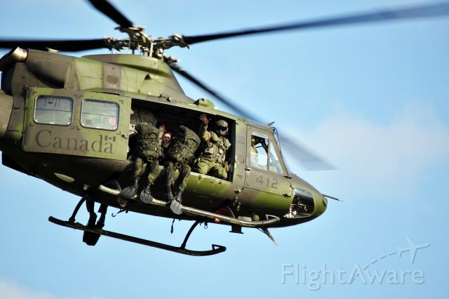CICARE CH-14 Aguilucho (14-6412) - Canadian Armed Forces Bell CH-146 Griffon helicopter