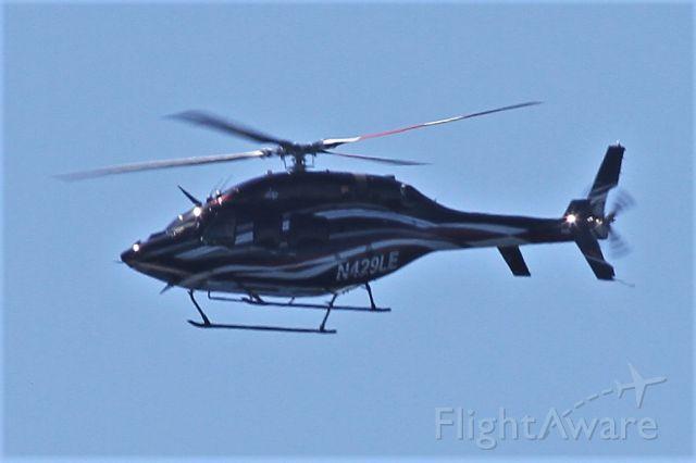 Bell 429 GlobalRanger (N429LE) - Over Mercer Island, WA