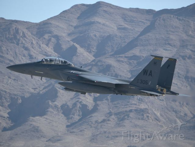 McDonnell Douglas F-15 Eagle — - Strike Eagle at Aviation Nation 2019.