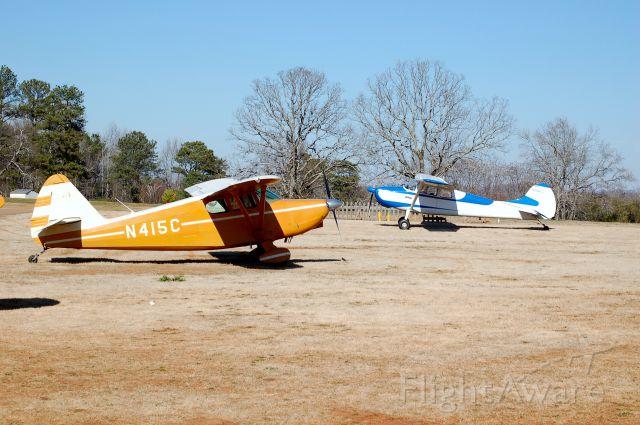 Cessna 170 (N2966D) - STATELY PAIR GA2