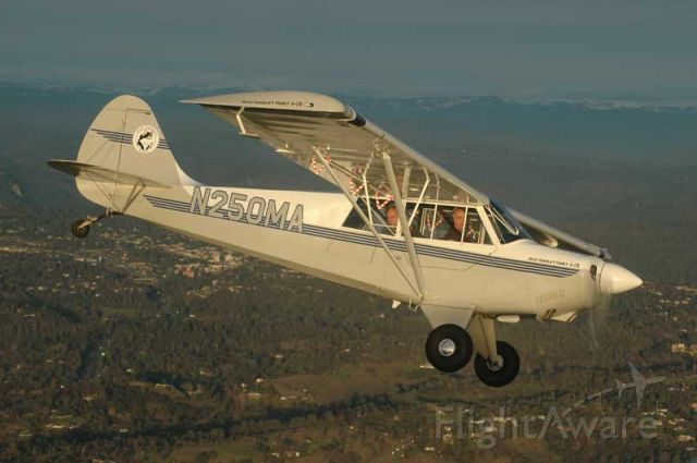 N250MA — - Dons Husky flying slightly south of KAUN. Photo taken by Andy Robinson.