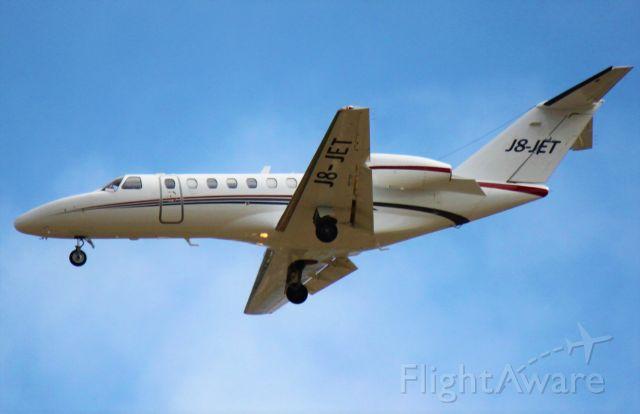 Cessna Citation CJ3 (J8-JET)