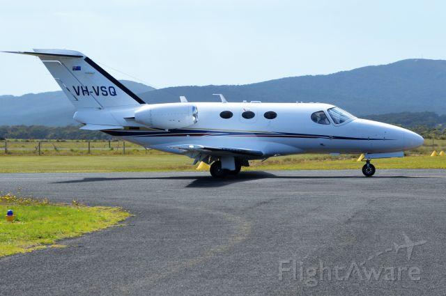 Cessna Citation Mustang (VH-VSQ) - Citation mustang arriving at Flinders Island, Mar 2020