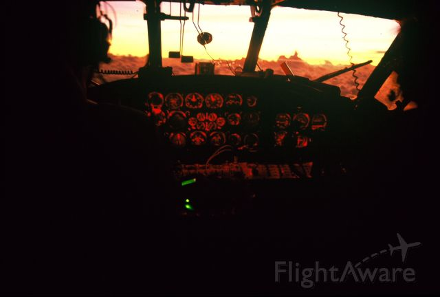 — — - Sunrise over the Dateline
