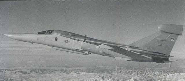 Grumman EF-111 Raven (68-0031) - scanned from postcard<br />EF-111