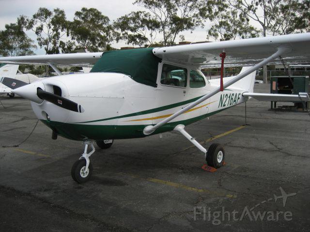 Cessna Skyhawk (N216AF) - Armed Forces Aero Club - new paint scheme.
