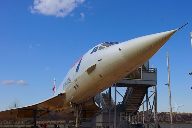 Aerospatiale Concorde (G-BOAD) - Retired, yet still ahead of her time.