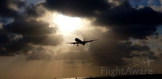 Airbus A330-300 (PH-AKA) - PH-AKA majestic arrival on short final at TNCA (Aruba).