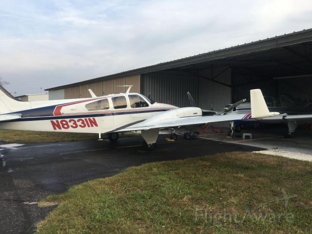 Beechcraft 55 Baron (N8331N)
