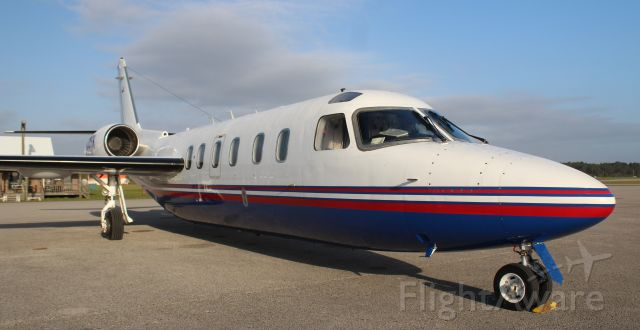 IAI 1124 Westwind (N30TK) - An Israeli Aircraft Industries 1124A Westwind II on the ramp at Gulf Air Center, Jack Edwards National Airport, Gulf Shores, AL - March 28, 2018.