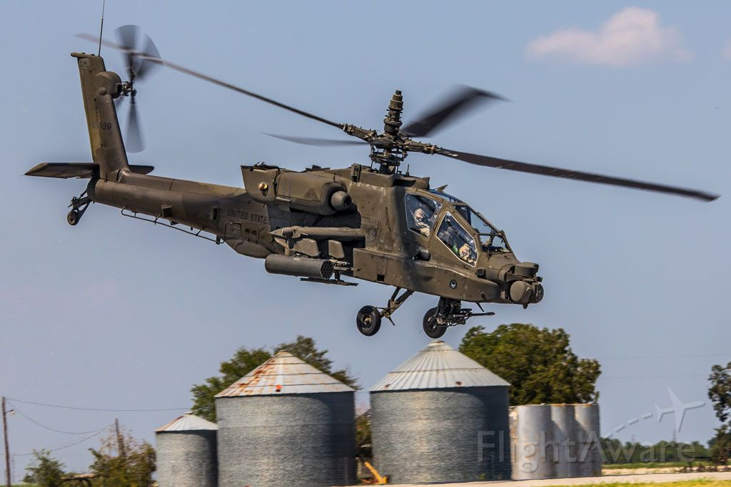 — — - visiting AH64 from Ft Hood