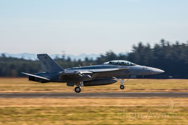 McDonnell Douglas FA-18 Hornet — - Shot at Coupeville, WA. 1/160 sec