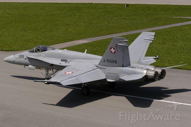 McDonnell Douglas FA-18 Hornet (J5026)