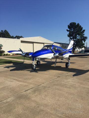 Cessna 402 (N7516Q) - Aircraft Just had Rose Aircraft Services Paint Aircraft.