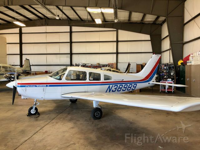 Piper Cherokee (N38989) - Direct Connect Flight Academy