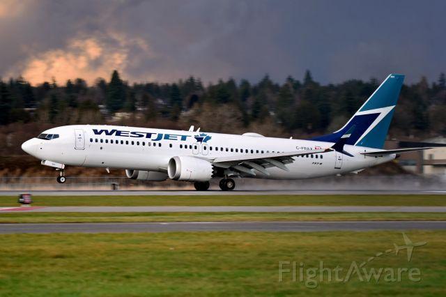 Boeing 737 MAX 8 (C-FRAX)