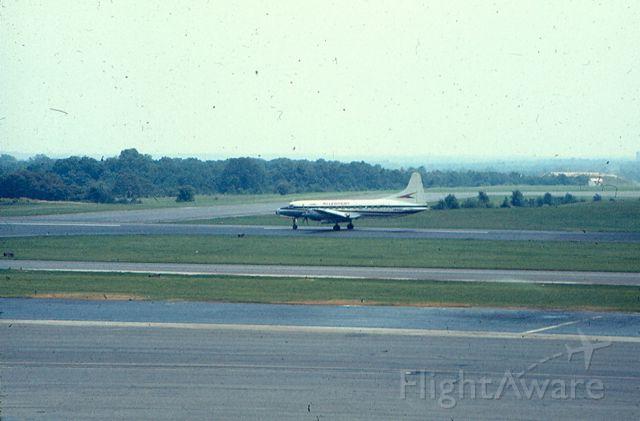 CONVAIR CV-580 — - Convair CV-580, runway 15 at KBWI