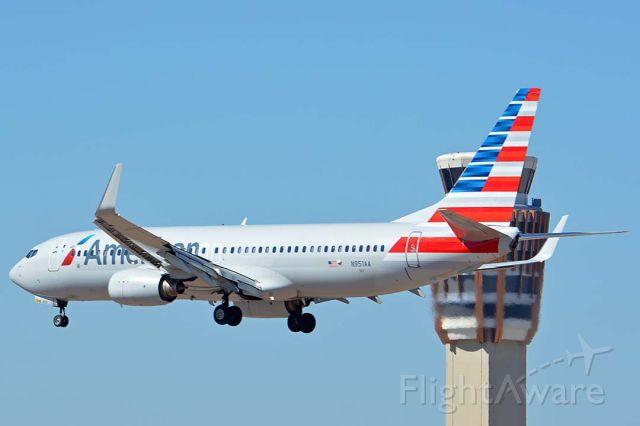 Boeing 737-800 (N951AA) - American Boeing 737-823 N951AA at Phoenix Sky Harbor on October 7, 2017.