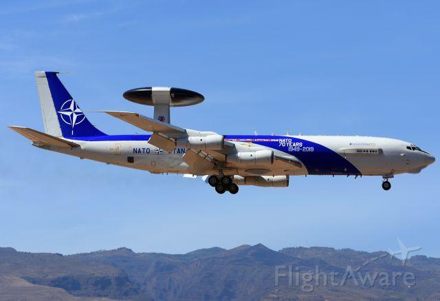 "Boeing E-3F Sentry (LXN90450) - Participant for the Air Defense Exercise ""Ocean Sky 2019"" in Gran Canaria."