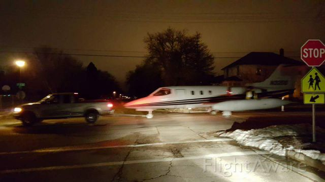 Learjet 24 (N32DD) - Lear was donated to our local tech school