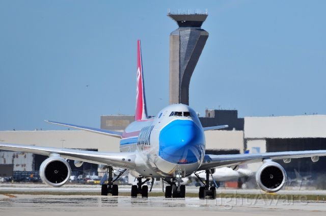 BOEING 747-8 (LX-VCF) - Shot taken today, 09-04-20