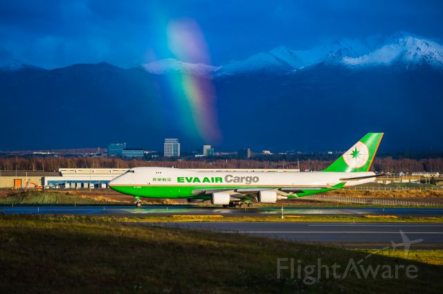 Boeing 747-400 (B-16481) - Matching Colors - These are the days that being a photographer is amazing. Shot in beautiful Anchorage, Alaska on a fall day in Octobrrrrr.Pic of the Week 4/25/2014.©Bo Ryan Photography | a rel=nofollow href=http://www.facebook.com/BoRyanPhotowww.facebook.com/BoRyanPhoto/a Please vote!