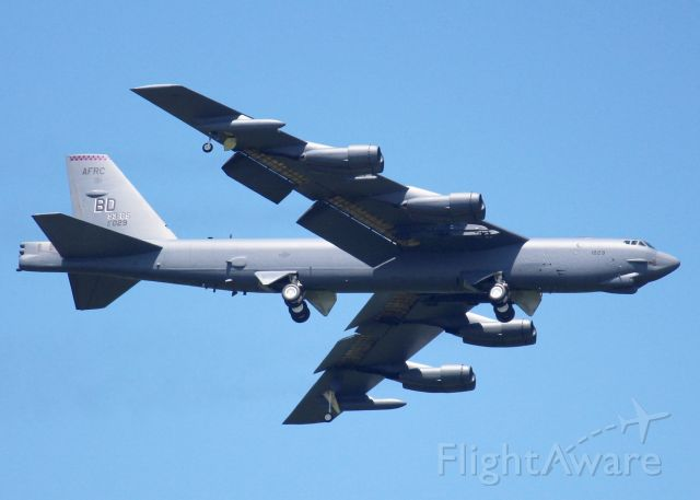 Boeing B-52 Stratofortress (61-0029) - At Barksdale Air Force Base.