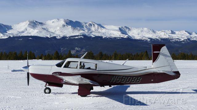 Mooney M-20 Turbo (N5808B) - Leadville CO Jan 2 2021