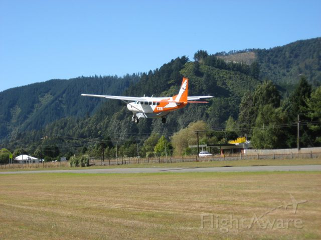 — — - Sounds Air off Picton NZ headed to Wellington