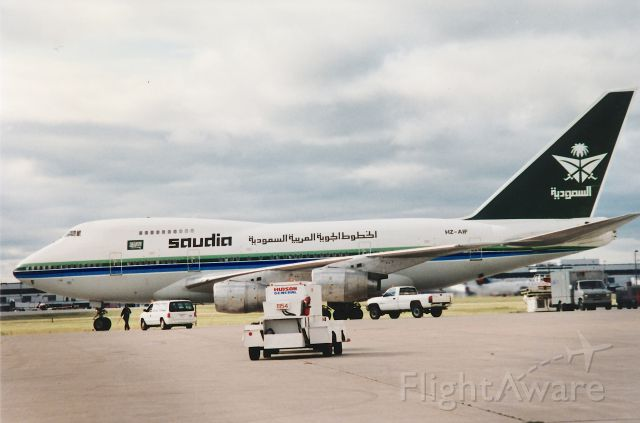 BOEING 747SP (HZ-AIF) - Clearer version of a previously downloaded pic.
