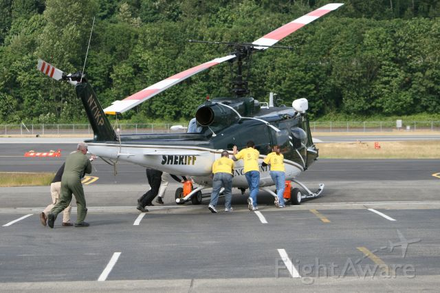 Beechcraft King Air 90 (N71KP) - Everybody push!
