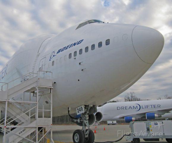 Boeing 747-200 — - 747 Dreamlifters