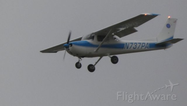N737PA — - On final is this 1976 Cessna 150M in the Autumn of 2018.