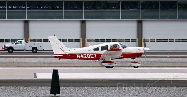 Piper Dakota / Pathfinder (N428CT) - Just landing on Runway 07.