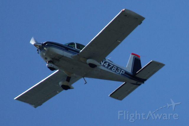 Grumman AA-5 Tiger (N4783P) - Over Mercer Island, WA