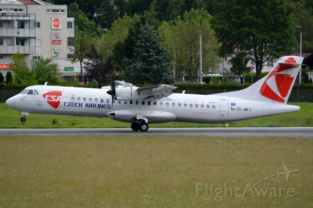 Aerospatiale ATR-72-500 (OK-MFT)