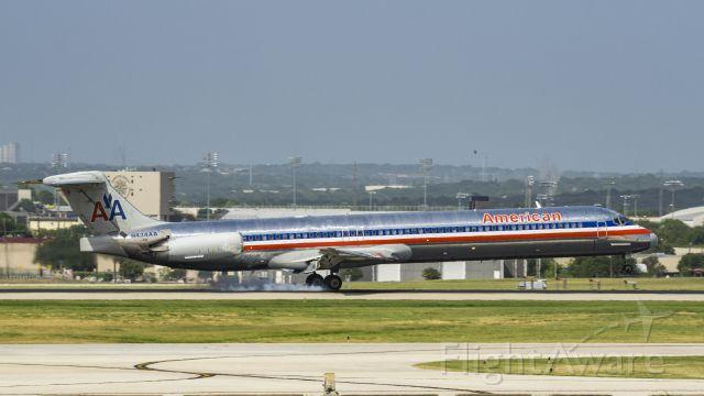 McDonnell Douglas MD-83 (N434AA) - Arriving 13Rbr /7/1/17