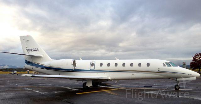 Cessna Citation Sovereign (N629CS) - Sovereign in KCVO Corvallis Oregon.