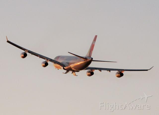 """Airbus A340-300 (CS-TOB) - Main Gear Doors""""Just Closing!"""""""