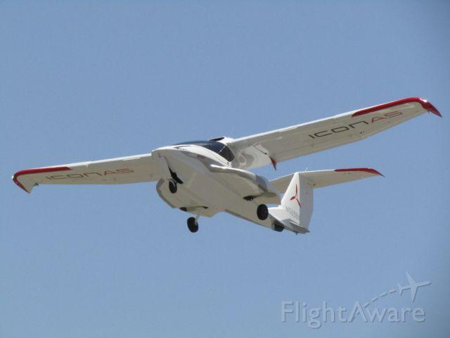 ICON A5 (N569BA) - Taking off RWY 24