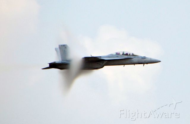 McDonnell Douglas FA-18 Hornet — - We could hear a sonic boom from this.