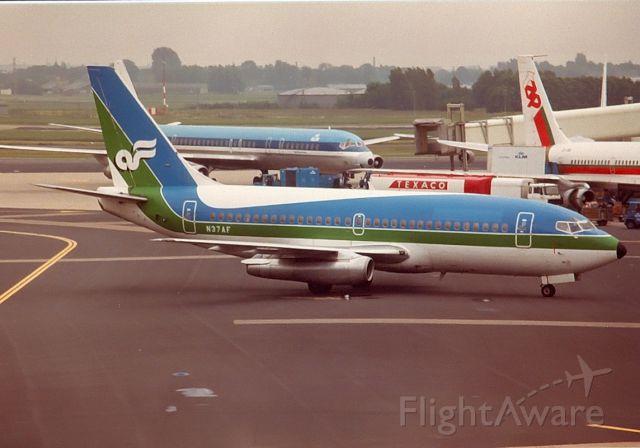Boeing 737-200 (N37AF) - Air Florida B737-2Q9 cn21720 Archief jul-82