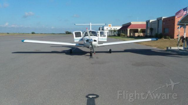 Piper Tomahawk (N2468N) - Landing in Edinburg Tx. after 15 hrs. from Pelican Rapids Mn.