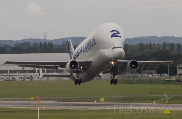Airbus A330-300 (F-GSTB) - Caught this leaving with a cargo of wings.