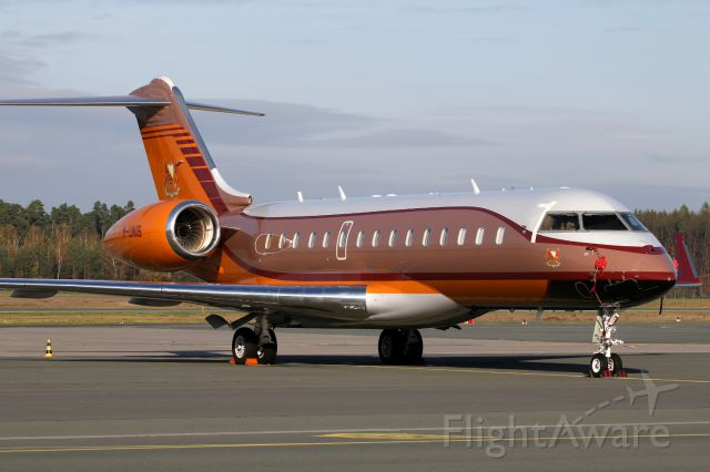 Bombardier Global Express (M-UNIS)